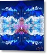 Color Sky Orchid Metal Print