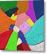 Color Tectures Metal Print