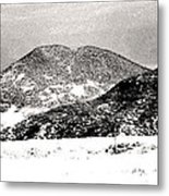 Colorado 2 In Black And White Metal Print
