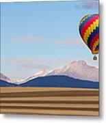 Colorado Ballooning Metal Print