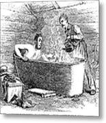 Colorado Bathhouse, 1879 Metal Print
