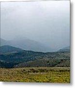 Colorado Foothills Metal Print