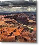 Colorado In The Canyons Metal Print