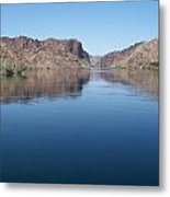 Colorado River At Willow Beach Az Metal Print