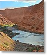 Colorado River Canyon 1 Metal Print