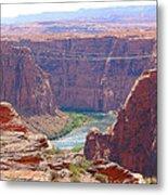Colorado River In Arizona Metal Print