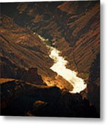 Colorado River Rapids Metal Print