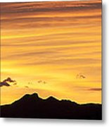 Colorado Sunrise Landscape Metal Print