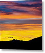 Colorado Sunrise -vertical Metal Print