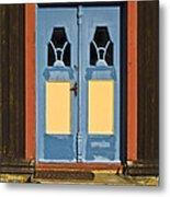 Colorful Entrance Metal Print