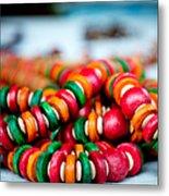 Colorful Jewellery Metal Print by Ankit Sharma