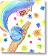 Colorful Journey Metal Print