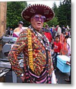 Colorful Man Of The Festival Metal Print
