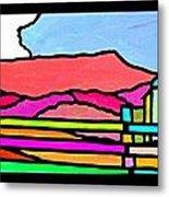 Colorful Massanutten Peak Metal Print