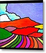 Colorful Massanutten Peak Two Metal Print