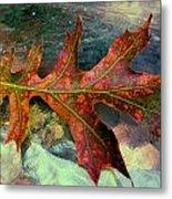 Colorful Oak Metal Print