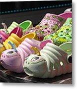 Colorful Shoe Metal Print