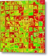 Colorful Squares II Metal Print