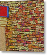 Colorful Stacked Stone Metal Print