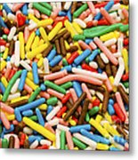 Colorful Sugar Metal Print