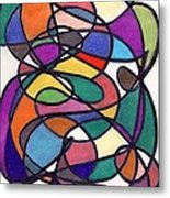 Colors 24. Metal Print