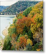 Colors Of A Tennessee Fall Metal Print