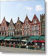 Colors Of Brugge Metal Print