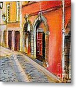 Colors Of Lyon 4 Metal Print