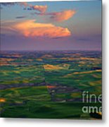 Colors Of The Palouse Metal Print