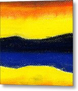 Colours Of Sky Metal Print