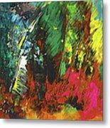Colours Symphony Metal Print