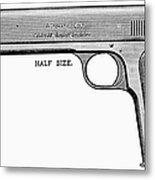 Colt Automatic Pistol Metal Print