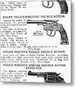 Colt Revolvers Metal Print