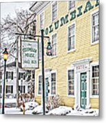Columbian House In Waterville Oh Metal Print