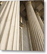 Columns Of The Supreme Court Metal Print