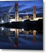 Combined Cycle Gas Turbine Power Station Metal Print