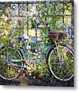 Come Ride With Me Metal Print