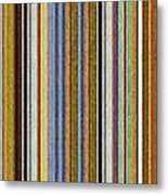 Comfortable Stripes Vlll Metal Print