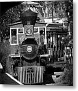 Comin Round The Bend Metal Print