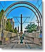 Coming And Going Downtown Main St Metal Print