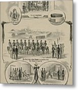 Commemorative Print Depicting The Trial Metal Print by Everett