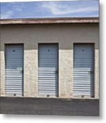 Commercial Storage Facility Metal Print