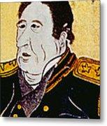 Commodore Matthew C. Perry 1794-1858 Metal Print