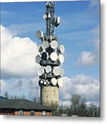 Communications Tower Metal Print