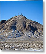 Communications Tower Metal Print by David Buffington