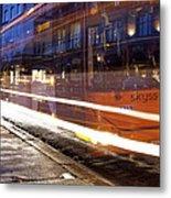 Commuter Bus Metal Print