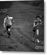 Competition Metal Print