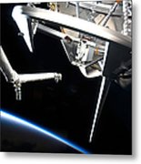 Components Of Space Shuttle Discovery Metal Print