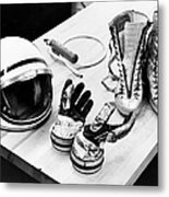 Components Of The Mercury Spacesuit Metal Print