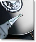 Computer Hard Disc Metal Print by Tek Image